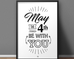Quadro May the fourth - A4