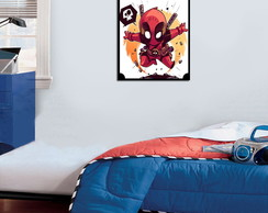 Quadro Decorativo Deadpool 0024