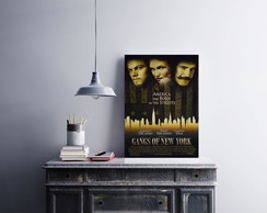 "Placa decorativa ""Gangs Of New York"""