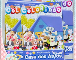 Revista de colorir Pet Shop