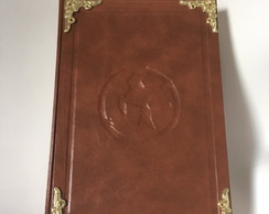 Caderno/livro HungerGames/LordoftheRings