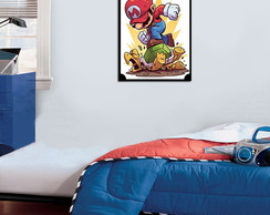 Quadro Decorativo Mario Bros 0027