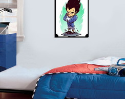 Quadro Decorativo Vegeta 0029