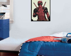 Quadro Decorativo Deadpool 0052