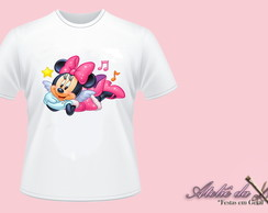 Camiseta - Minnie Mouse