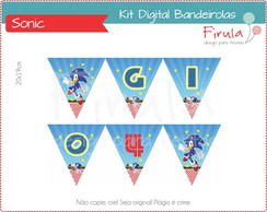 Kit Digital Bandeirolas Sonic
