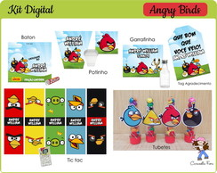Arte Digital Angry Birds