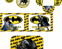 Kit 5 Artes Digitais Batman