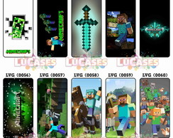 Capa Capinha Celular Minecraft Game Mine