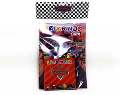 Kit Colorir - Carros Disney