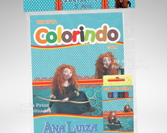 Kit Colorir Valente + Brindes