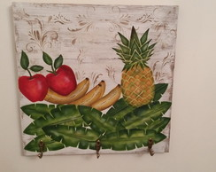 Placa Frutas Tropicais