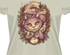 Camiseta baby look we are all mad were