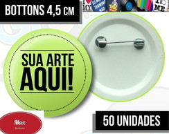 50 Bottons 4,5 Personalizados - Button