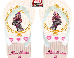 Chinelo Ever After High Delicado Veja !