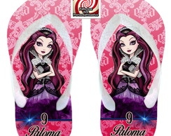Raven Queen Ever After High Chinelo !