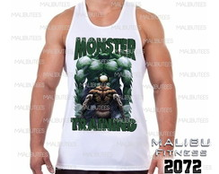 regata masculina monster hulk academia