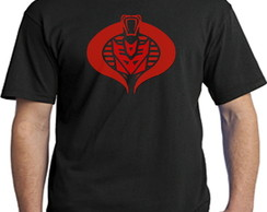 3023- Camiseta Comander cobra transforme