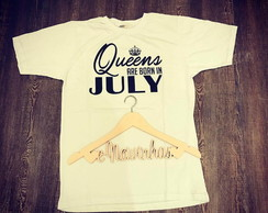 Camiseta Born in July