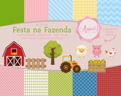 Kit Digital Original - Festa na Fazenda