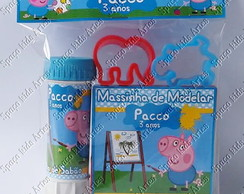 Kit Massinha + Bolha George Pig