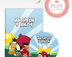DVD + Capa Personalizados - Angry Birds