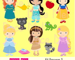 Kit Digital Princesas 4