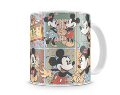 Caneca Mickey e Minnie Gibi