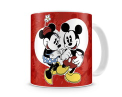 Caneca Mickey e Minnie Vintage