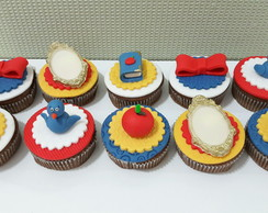 Cupcakes tema Mickey no Safari