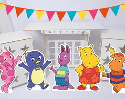 Kit Displays de chão MDF - Backyardigans