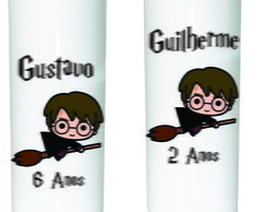 Copo Plástico Long Drink Harry Potter