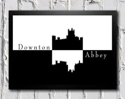 Poster com moldura Downton Abbey