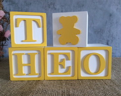 Cubos Toy Story 6x6cm + Urso