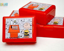 Mini Caixa Box Snoopy