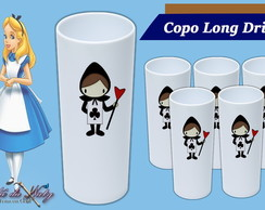 Copo Long Drink -Alice no País das Mara