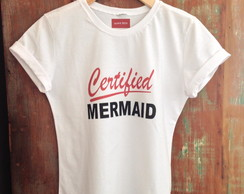 Tshirt adulto Certified Mermaid tam G