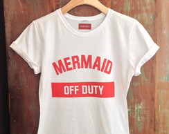 Tshirt adulto Mermaid off duty