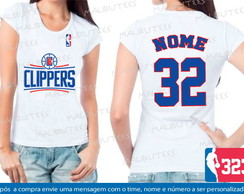 baby look basquete clippers