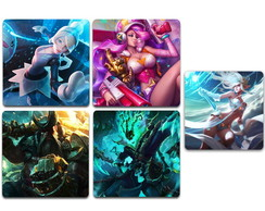 Ímãs League of Legendes LOL Pack 10 und