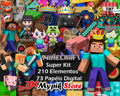 Kit Digital Minecraft Completo - 62