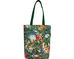 Bolsa Bag Estampada Tropical
