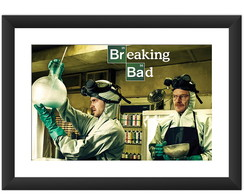 Quadro Breaking Bad Seriado Tv Serie Art