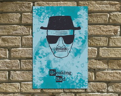 "Placa Decorativa ""Breaking Bad"""