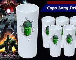 Copo Long Drink - Vingadores