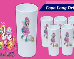 Copo Long Drink - Shopkins