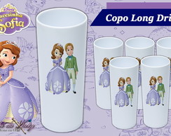 Copo Long Drink - Princesa Sofia