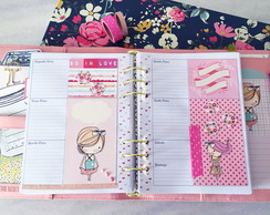 INSERT PLANNER E SCRAPBOOK LITTLE GIRLS