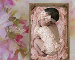 body de renda newborn