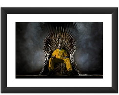 Quadro Breaking Bad Game Of Thrones GoT